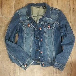 NY&C jean jacket, size 6